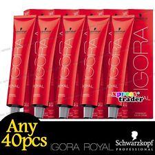 Any 40pcs Schwarzkopf IGORA ROYAL Permanent Colour Hair Dye Highlift Series 60ml