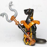 New Ninjago LEGO® Char Black Snake Pyro Vipers Minifigure 70675 70677 Genuine