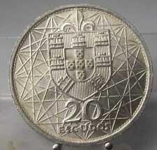 Portugal, 20 Escudos 1966, Silber