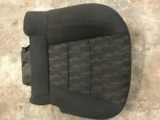 11 12 13 14 15 CHEVROLET VOLT LEFT DRIVER SIDE REAR SEAT BOTTOM BLACK CLOTH