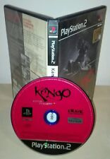 KENGO MASTER OF BUSHIDO Ps2 Sony PlayStation gioco game prima stampa ubisoft