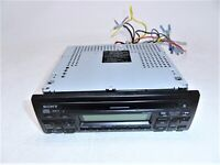 Sony CDX-3100 FM/AM CD Player 30Wx4 Car Stereo w/Wiring Harness Limit Test AS-IS