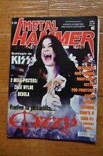 Metal Hammer Magazine Spain 169 - December 2001 - Ozzy, KISS, Rob Zombie, Nebula