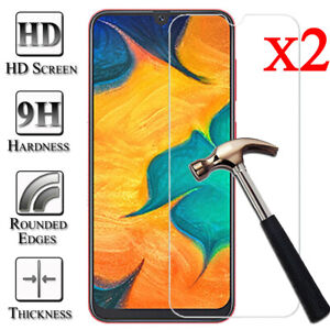 2Pcs Tempered Glass Screen Protector For Samsung Galaxy A30 A40 A50 A70 A10 A20E
