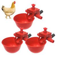 20pcs Chicken Birds Drinking Bowl pets Pigeon Quail Farms Drinking Feeding Cups
