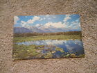 VINTAGE POST CARD - GRAND TETON NATIONAL PARK, WYOMING