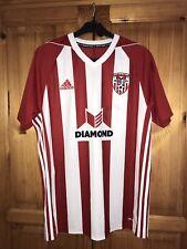 More details for derry city fc adidas home shirt - medium - irish football league of ireland