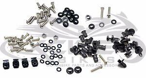 Fairing bolts kit, stainless steel, Honda CBR600F4 F4i 1999-2007 #BT119#