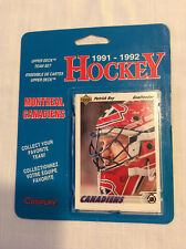 1991-1992 Upper Deck Montreal Canadiens Team Set Blisterpack