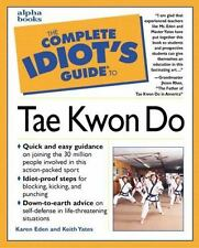 The Complete Idiot's Guide to Tae Kwon Do paperback for dummies FREE SHIPPING