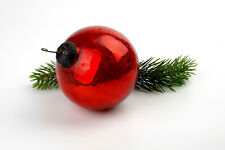 Vintage Kugel glass Christmas ornaments,round.