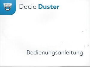 DACIA DUSTER 2 Betriebsanleitung 2019 Bedienungsanleitung Handbuch Bordbuch BA