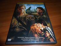 Troy (DVD, 2005, 2-Disc  Full Frame) Brad Pitt