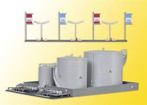 36726 Kibri Z Gauge Kit of a MIRO fuel tank facility - NEW