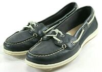 Sperry Top Sider Firefish Core $90 Women's Boat Shoes Size 8.5 Leather Black