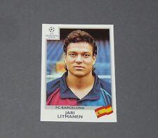 47 LITMANEN SUOMI FINLAND BARCELONA PANINI FOOTBALL CHAMPIONS LEAGUE 1999-2000