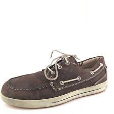 ECCO Eisner Brown Leather Deck Boat Shoes Men's Size 40 M*