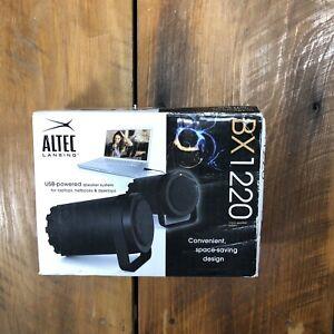 New Altec Lansing BXR1220 USB Computer Laptop Tablet Speakers Dynamic HQ Sound