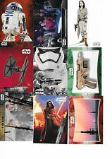 2015 TOPPS STAR WARS THE FORCE AWAKENS MASTER SETS 202 CARDS BASE SET + INSERTS