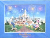 NEW Disney Parks Shanghai Grand Opening Print LE 2500 Mickey Minnie Donald Goofy