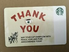 NEW RELEASE STARBUCKS CARD CORPORATE / CO-BRANDED THANK YOU