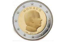 Monaco 2 euro 2014 Unc-Prins albert. Zo uit de rol!