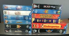 Wholesale Lot - 12 pc Brand New Assorted Disney PC Games for Windows 95/98/Me