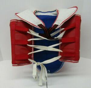Dynamics Taekwondo Karate Martial Arts Chest Pad Red/Blue Size #2