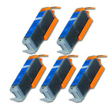 5 CYAN Ink Cartridge with Chip fits Canon CLI-251 MG5422 MG6620 MX922