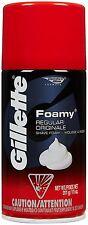 Gillette Foamy Shaving Cream, Regular, 11 oz Each