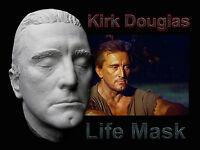 Kirk Douglas Life Mask Direct From a Vintage Casting. Spartacus, Ulysses