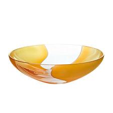 Schale Schüssel Obstschale ~ELEMENTS~ Ø=30cm orangegelb (CRISTALICA) GW00808