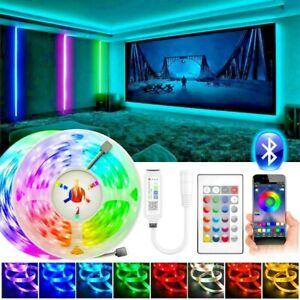 Bluetooth Led Lights 5/10/15M Colour Light TV Bluetooth Controlled