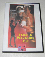 I Like to Play Games Too (1998) Maria Ford DVD RARE OOP