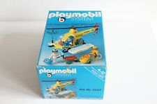 playmobil 3247 ovp set complete hélicoptère de sauvetage, rescue helicopter