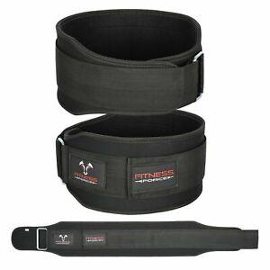 Weight Lifting Belt Black 5.5'' Gym Fitness Bodybuilding Back support Men/Women