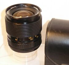 TAMRON 28-70 mm F3.5 - 4.5 Macro Zoom (44 A) Optiques question & Iris question