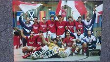 Mannschaftsbild Foto Rot-Weiss Köln Hockey Hallen Europapokalsieger 90er Rarität