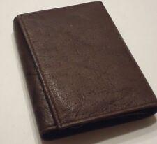 Men's John Weitz Genuine Leather Trifold Wallet,Brown