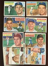 1956 Topps Baseball Card Lot 27 Different EX/EXMT