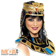 Egyptian Headpiece Adults Fancy Dress Cleopatra Paraoh Egypt Costume Accessory