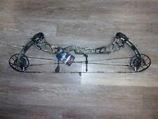 "PSE EVOKE-31 24½"" to 30"" RH 55# to 65# Archery Compound Hunting Bow Kryptek Camo"