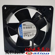1pcs Ebmpapst 12038 4600N AC110V 120x120x38mm metal fan