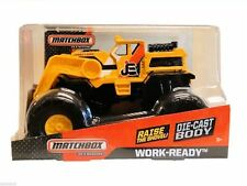 Matchbox On A Mission Work ready Front Loader Dozer Vehicle 1:24 NEW BGY69