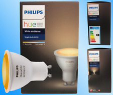 Philips Hue White Ambience GU10 Dimmable LED Smart Light New & Sealed