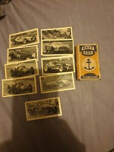 vintage Navy Cut sweet cigarette packet. Kane Products Ltd London & 9 card's