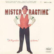 JOE FINGERS CARR Mister Ragtime FR Press Capitol EAP 3-760 EP