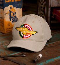 Ducati Meccanica Brown Embroidered Cap Hat Metro Racing - NEW