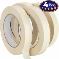 Nova Supply 3/4 in Pro-Grade Masking Tape. 60 Yard Roll 4 Pack = 240 Yards of...