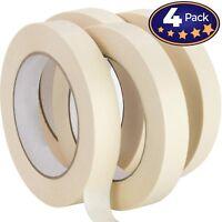 Nova Supply 3/4 in Pro-Grade Masking Tape. 60 Yard Roll 4 Pack = 240 Yards of...